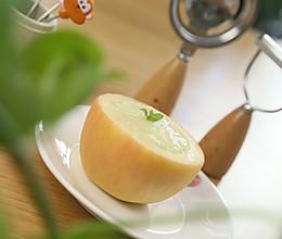 止泻苹果盅  宝宝辅食达人的做法