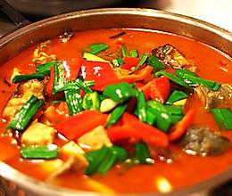 鲶鱼豆腐火锅的做法