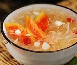 木瓜红枣蜂蜜银耳汤(瘦身、丰胸、补血、便秘专用)的做法