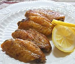 柠香黑椒蜜汁鸡翅的做法