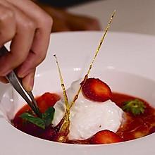 ELECOOK丨法式漂浮岛草莓蛋白