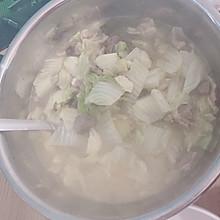 大白菜羊肉粉丝汤
