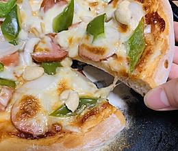 手把手教你做出西餐厅披萨 #人人能开小吃店#的做法