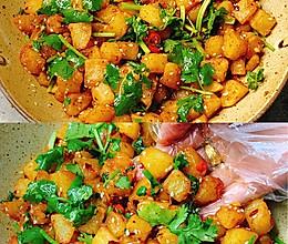 土豆的神仙吃法❗️酸辣过瘾,超级下饭的做法