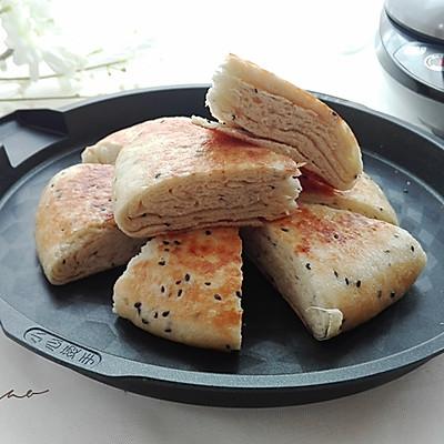 芝麻咸香千层饼