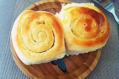 柚皮糖手撕面包卷#橄露贝贝橄榄油#