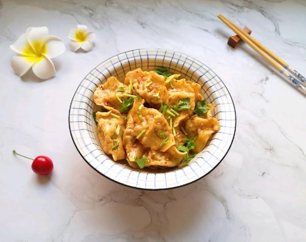 红油干拌饺子的做法