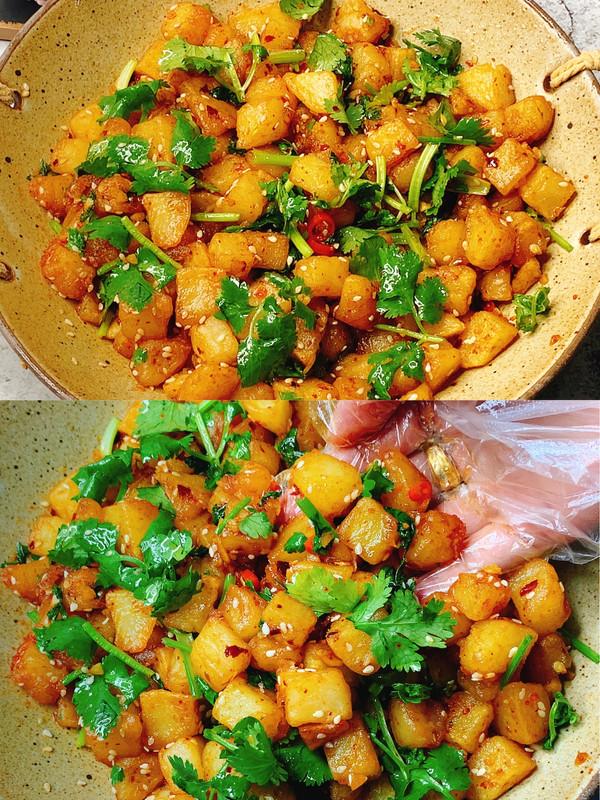 土豆的神仙吃法❗️酸辣过瘾,超级下饭
