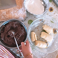 电饼铛版红豆酥的做法图解1