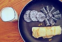 香喷喷豆渣鸡蛋饼的做法