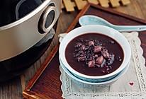 黑米花生红豆粥的做法