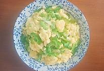 苦瓜炒鸡蛋的做法