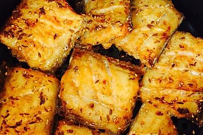 空气炸锅烤带鱼