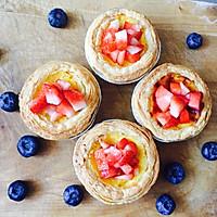 草莓蛋挞的做法图解4