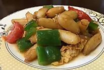 炒蟹肉的做法