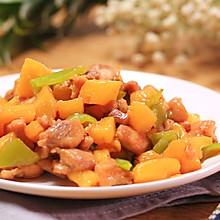 酸甜菠萝炒鸡丁
