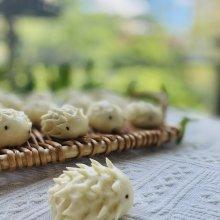 快点一起来做简单又可爱的刺猬豆沙包
