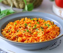 #冰箱剩余食材大改造#番茄土豆烩饭的做法