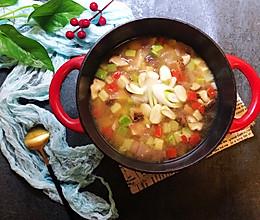 年夜饭的一碗汤-韩式蔬菜汤的做法