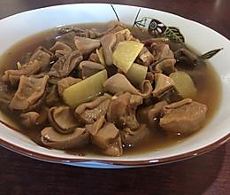 养胃食谱:花椒猪肚