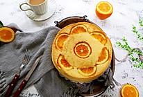 #换着花样吃早餐#香橙戚风蛋糕的做法