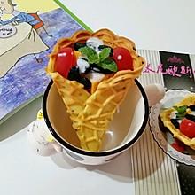 酸奶水果脆蛋卷