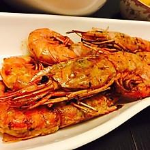 香煎阿根廷红虾