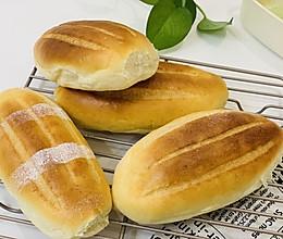 炼奶哈斯面包的做法