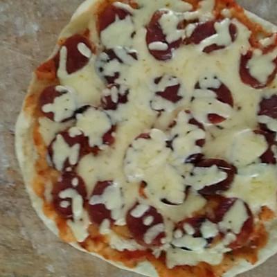 懒人电饼铛披萨