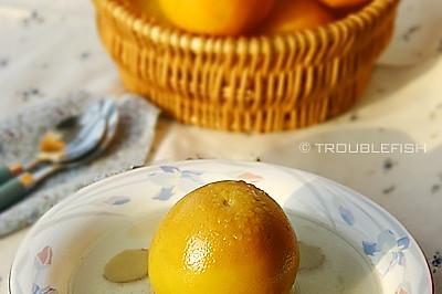 橙子炖瘦肉