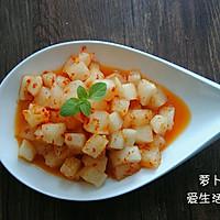 【火锅伴侣】萝卜泡菜的做法图解5