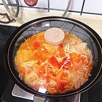 金针菇炒西红柿的做法图解4