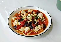 海味茄菇豆腐汤的做法