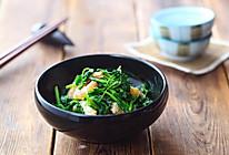海米拌豌豆苗的做法
