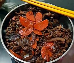 超好吃的日式牛肉饭的做法