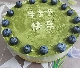 8寸抹茶慕斯蛋糕的做法