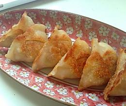 白菜猪肉煎饺,锅贴(内涵饺子馅做法)的做法
