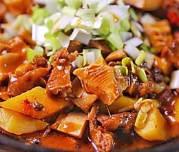 竹笋土豆烧牛肉的做法