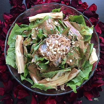芝麻酱油麦菜