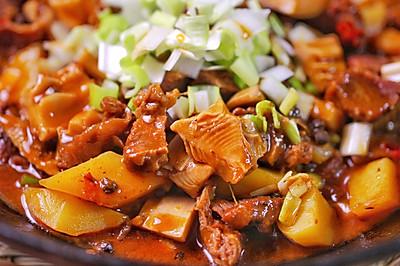 竹笋土豆烧牛肉