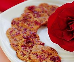 奶香玫瑰煎蛋饼的做法