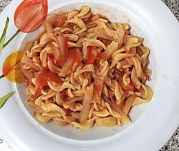 番茄土豆絲意粉的做法