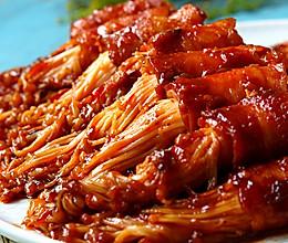 金针菇培根卷│超级好吃的做法