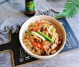#名厨汁味,圆中秋美味#五花肉炒笋片