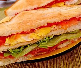 五分钟无脂三明治的做法