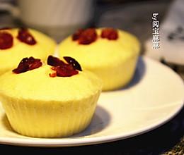 好吃不上火的蔓越莓蒸蛋糕#老板电器S205蒸箱试用#的做法