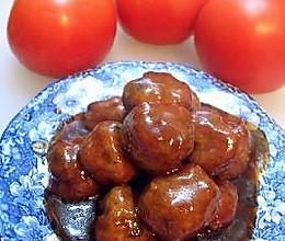 玫瑰家园小厨房--蠔油狮子头的做法