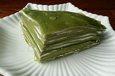 【蔓德拉的厨房】抹茶千层可丽饼