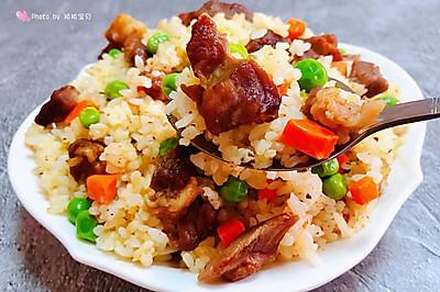 羊肉串炒饭