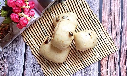 奶香燕麦桂圆刀切馒头的做法